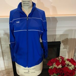 Under Armor sports jacket activewear S/M blue